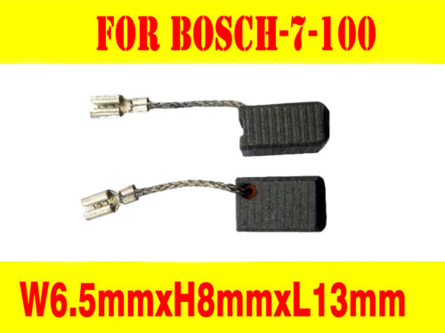 Carbon Brushes For Bosch Grinder 6.5X8mm GWS 7-100,7-125,1619P02892,1619P02870