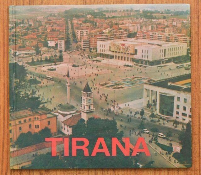 "ALBANIA "" TIRANA"", PHOTO ALBUM OF ITS ARCHITECTURE, 1990"