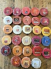 YANKEE Candle Red Berry /& Cedar Tarts Wax Melts Lot Of 4 Hard To Find Scent*