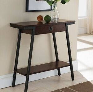 Admirable Details About Small Console Table With Drawer Wood Sofa Entryway Hallway Foyer Hall Living Rm Gamerscity Chair Design For Home Gamerscityorg
