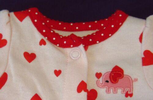9 Baby/'s 1st First Valentine/'s St Patrick/'s Day One Piece Creeper Sleeper Pre