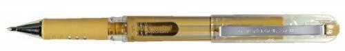 PENTEL Gel-Tintenroller Hybrid 0,5 mm Metallic gold silber PENTEL K230 Grip DX