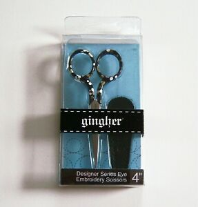"""Gingher EVE Designer Series 4"""" Limited Edition Embroidery Scissors"""