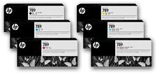 6 x Tinte HP DesignJet L25500 / Nr. 789 LATEX CH615A CH616A CH617A -CH620A INK