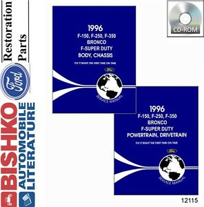 1996-Ford-Truck-Bronco-Econoline-Shop-Service-Repair-Manual-CD