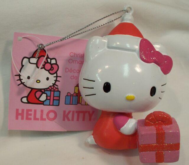 2 Hello Kitty Ornaments
