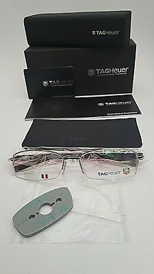 TAG HEUER FRAMES GLASSES IN RED BLACK SILVER 8210 005 BRAND NEW /& UNDER £75 !