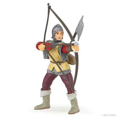 Papo 39384 Archer rouge 9 cm Chevaliers et châteaux