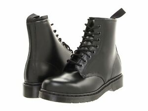 d064965e87b Men Dr. Martens 1460 Hi Top 8 -Eye 14353001 Black Mono Smooth 100 ...