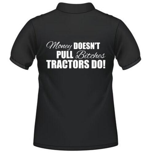*Farming Tractor Polo Shirts Slogan Fendt Massey Case Claas New Holland* money