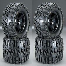 "Pro-Line 1184-11 3.8"" Mounted Trencher X Tires Desperado 17mm MT Wheels 4 Savage"