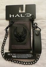 Halo 5 Guardians Trifold Wallet with Chain New