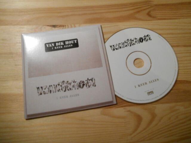 CD Pop Van Dik Hout - I Keer Alles (1 Song) SONY MUSIC LOCAL