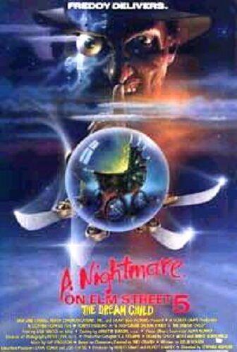 NIGHTMARE ON ELM STREET 5 THE DREAM CHILD ORIGINAL ROLLED MOVIE POSTER V 1989