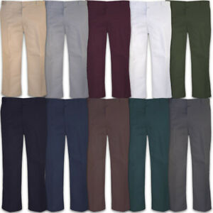 Dickies-874-Pants-Mens-Original-Fit-Classic-Work-Uniform-Bottoms-All-Colors