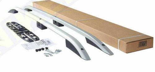 FORD TRANSIT CUSTOM LWB Aluminium Roof Bars Roof Rails SILVER 2013-2019
