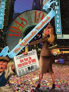 1948-Year-Interactive-CD-rom-034-One-Year-on-CD-034-ideal-for-Birthday-Anniversary