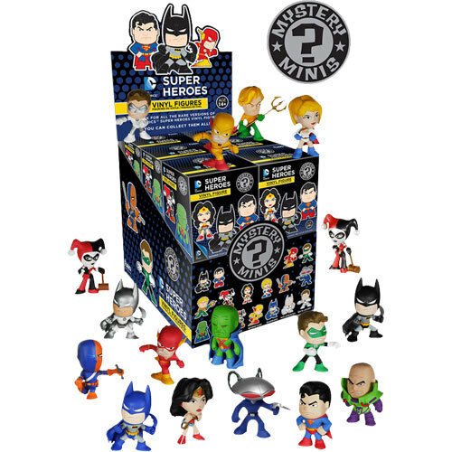 Justice League - Mystery Minis Blind Box - Set of 12 NEW Funko