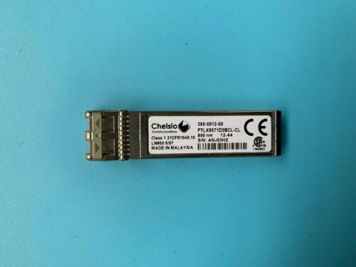 Chelsio 260-0012-00 FTLX8571D3BCL-CL 10Gb//s SFP Transceiver Module