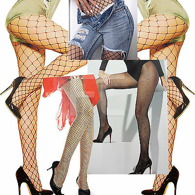 Das Beste New Womens Ladies Whale Fence Diamond Fishnet Tights Pantyhose Fancy Party Size Hohe QualitäT Und Geringer Aufwand