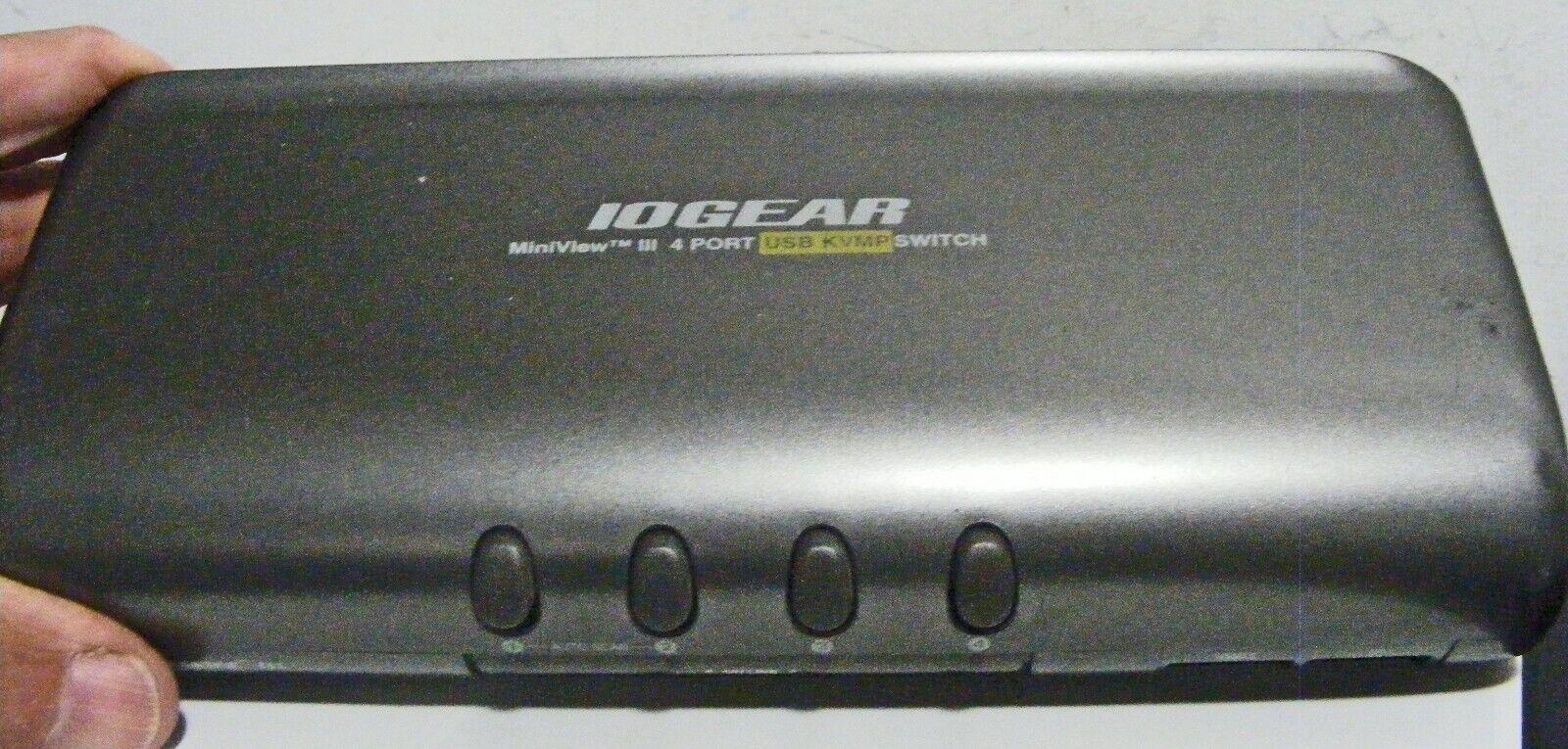 IOGear MiniView III USB / KVMP swirch w power, IB. beeps contunously ??