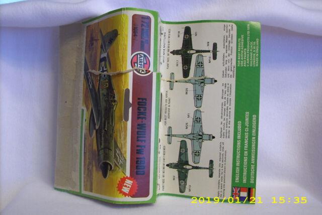 NEW Airfix Focke-Wulf Fw 190D 1:72 Model Kit Airplane Plane 0164-7 Series 1