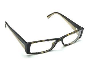 417dc53b6ef PRADA VPR 16H 766-1O1 Dark Havana Rectangular Eyeglasses Frames 53 ...