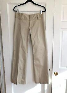 Banana-Republic-Women-039-s-Stretch-Khaki-Tan-Trouser-Fit-Chino-Pants-Size-4