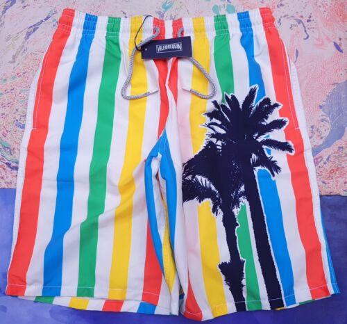 bain Multi 34 Stripes XL Vilebrequin Okoa Short Taille de White Palm XL 36 Homme vxEnFx