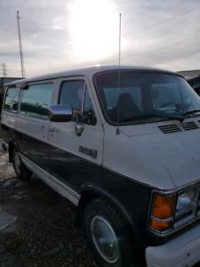 """1987 Dodge Ram B150 """"shorty"""" Van"""