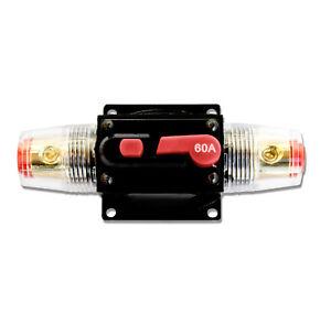 KFZ Sicherung 40A 24V 60 A Automat Sicherungsautomat Sicherungshalter 12V