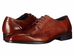 Men's Shoes Kenneth Cole Sur-Plus Leather Oxfords KMF5LE061 Tan *New*