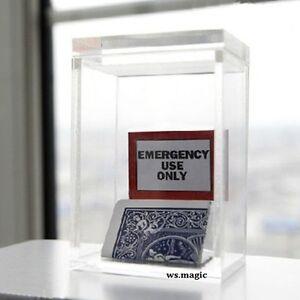 The-Clarity-Box-Magic-Tricks-Close-up-Magic-Gimmick-Illusions-Prophecy-Magician