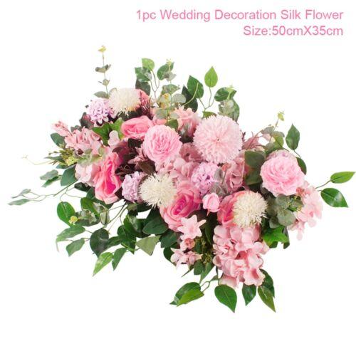 Künstliche Rose Rebe Seide Girlande hängen Hochzeit Bogen Garten Wand Dekor