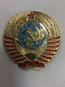 Vintage-USSR-Soviet-Union-Russian-Pin-Pinback-Badge-2