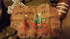 Indiana Jones Movie Prop Sanskrit Manuscript Replica (Sankara Cloth) Indy Prop