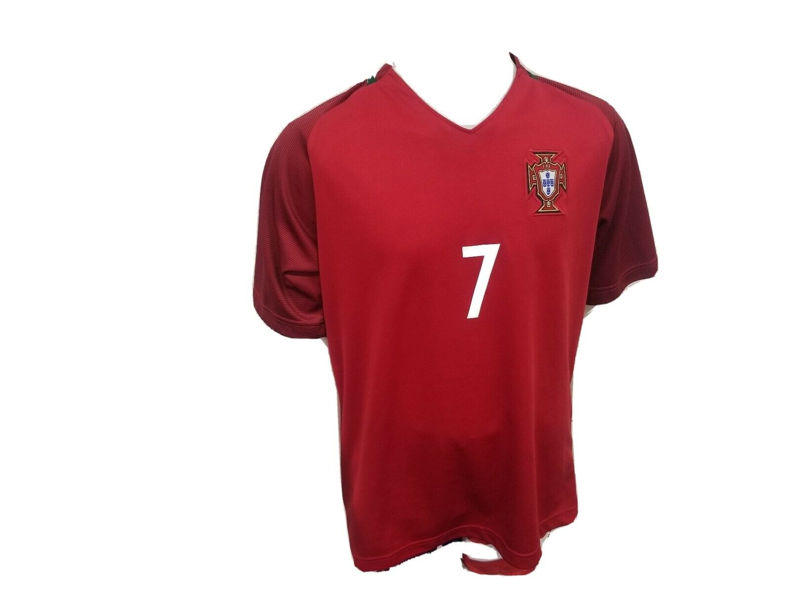 KID BOX 2018 Portugal Cristiano Ronaldo #7 Home Red Kids Soccer Football Jersey Gift Set Youth Sizes