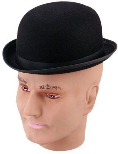Sombrero Bombín-Negro Immer 1920S, vestido elegante Ingleses Antiguos Sombreros pequeño