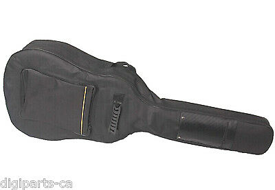 """Acoustic Guitar Carrying case, 5mm Padded Bag, Max. 41"""" full size guitar"""