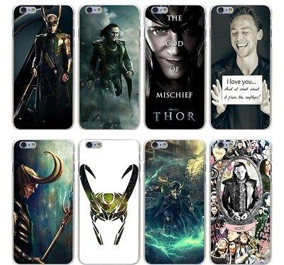 Loki Thor God Of Thunder The Avengers Marvel hard case cover for iPhone Huawei