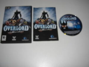 OVERLORD-II-Pc-DVD-Rom-Original-OVER-LORD-2-FAST-DISPATCH