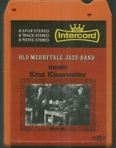 8-Track-8-Spur-Tonband-Old-Merrytale-Jazz-Band-meets-Knut-Kiesewetter-Jazz