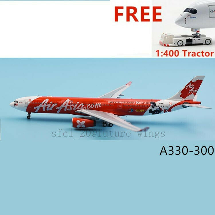 1 400 Panda Model BOX18033 Air Asia A330-300 9M-XXP PACMAN Aircraft Model