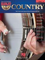 Country Sheet Music Banjo Play Along Book And Cd 000105278