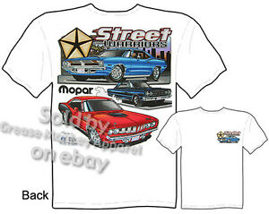 70 71 72 73 Mopar Clothing Dodge Shirt 426 Hemi Cuda T Shirts Muscle Car Apparel