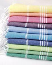 "Turkish Towels beach towels Beach Towel 40x72/"" bath towel Peshtemal 100/%Cotton"