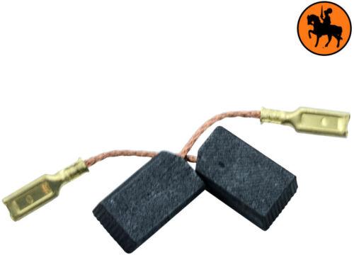 Balais de Charbon pour Black /& Decker Coupeuse//Scie BD11-6,3x8x13,5mm