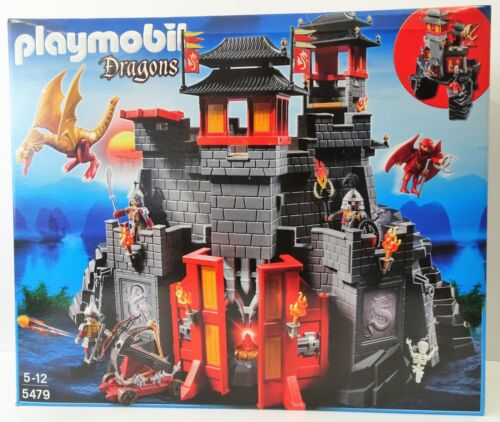 Dragons Große Asia-Drachenburg NEU NEW OVP Playmobil 5479