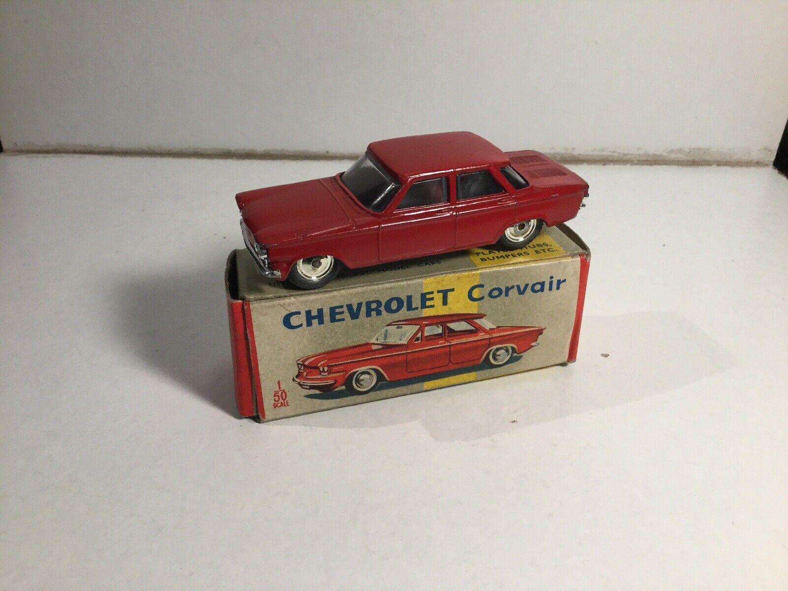 Vintage 1960's Lone Star Diecast Roadmasters Chevrolet Corvair In Original Box