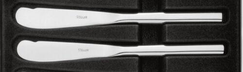 Stellar rochester tous poli couteau à beurre-set 2.//salle à manger vaisselle couverts.BL45